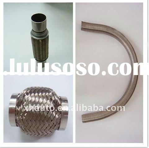 stainless steel flexible exhaust pipe/Stainless steel auto exhaust flexible pipe with different kind