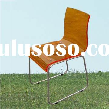 stainless steel frame patio bar chair