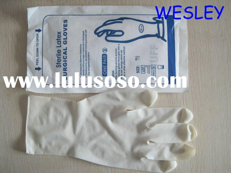 powder latex supermax free surgical malaysia gloves