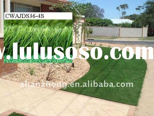 the best four-tone outdoor garden artificial turf.(Manufacturers supply)
