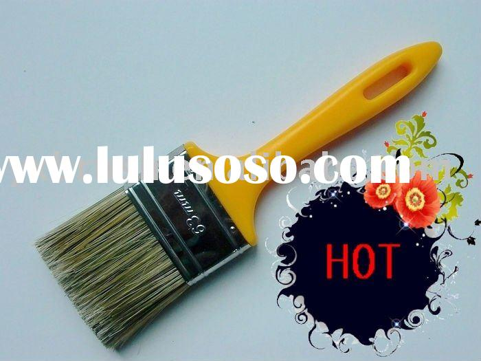 thick plastic handle paint brush