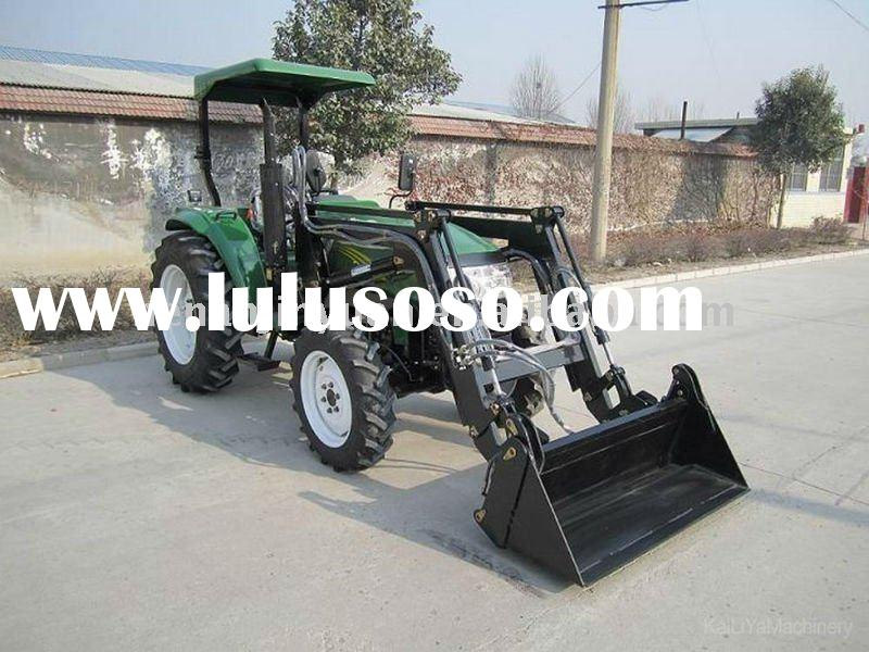 tractor with front end loader and backhoe for Europe