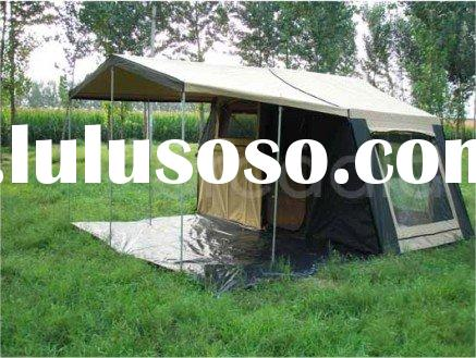 very easy to open mini camper trailer tent with gas strut