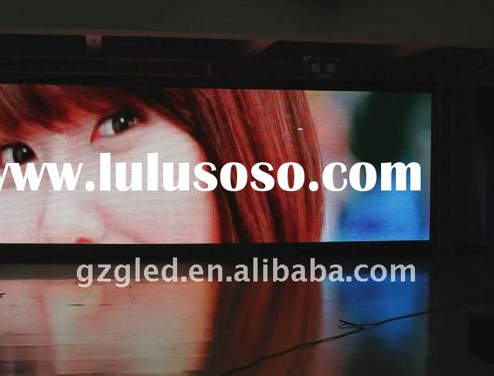 video flexible Led light window display P20