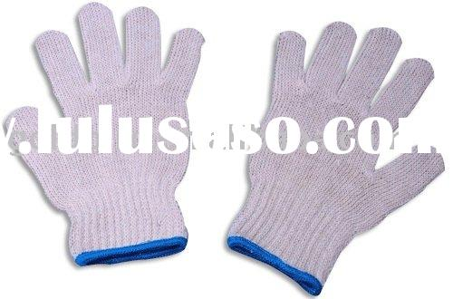 white cotton gloves GB8024