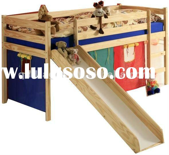 Wood Bunk Bed With Slide Wood Bunk Bed With Slide Manufacturers In