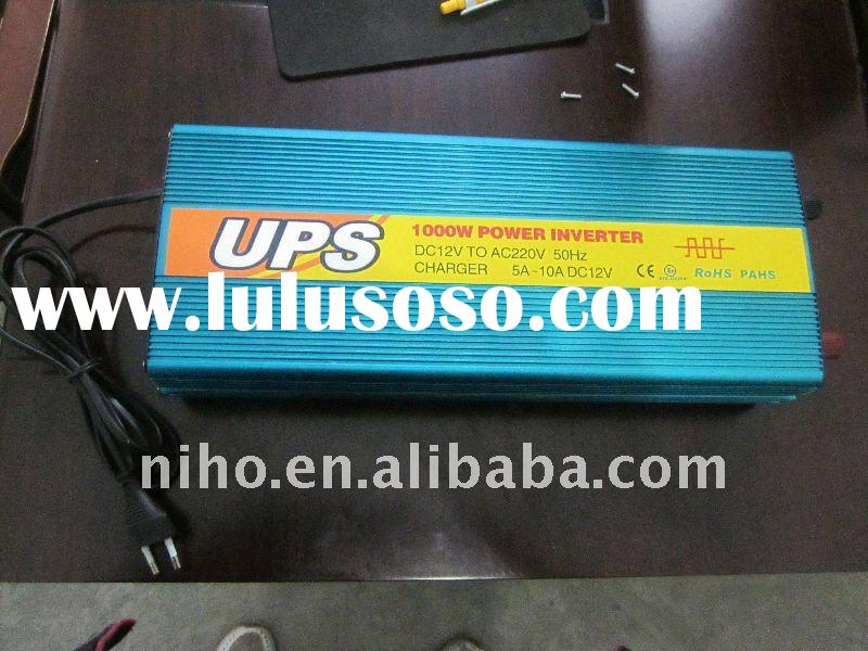 1000W UPS inverter with charger 12v to 220v