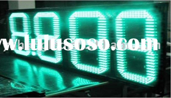 "16"" 8.888 Green LED Oil Price Display for Gas Station"