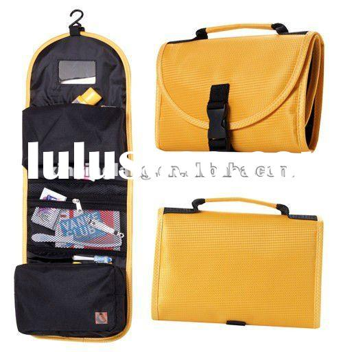 Hanging Toiletry Bag With Mirror Image And Description Imageload Co