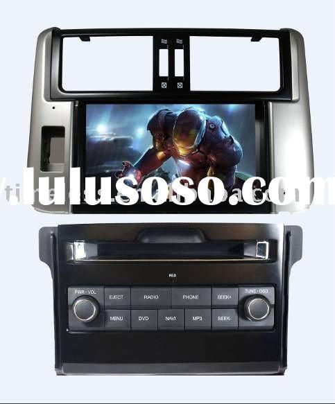 2 Din Car DVD Player for New Toyota Prado with built-in GPS, Dual Zone,Digital Panel, RDS,Steering W