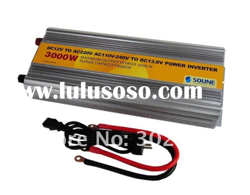 3000W DC to AC dc car converter 24v to 12v