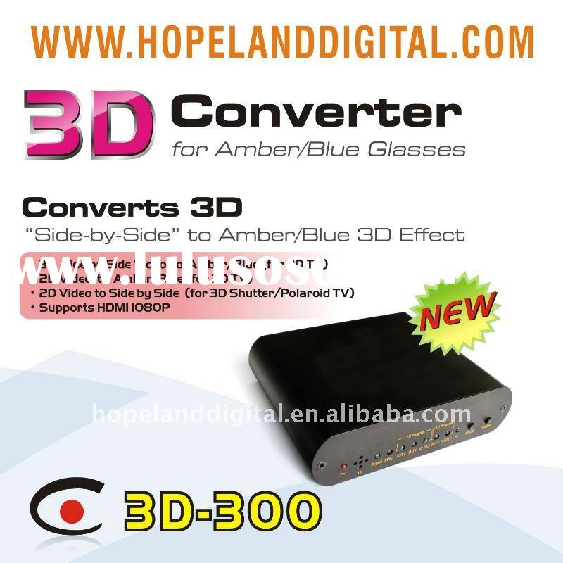 3D converter for tv,projector and media player