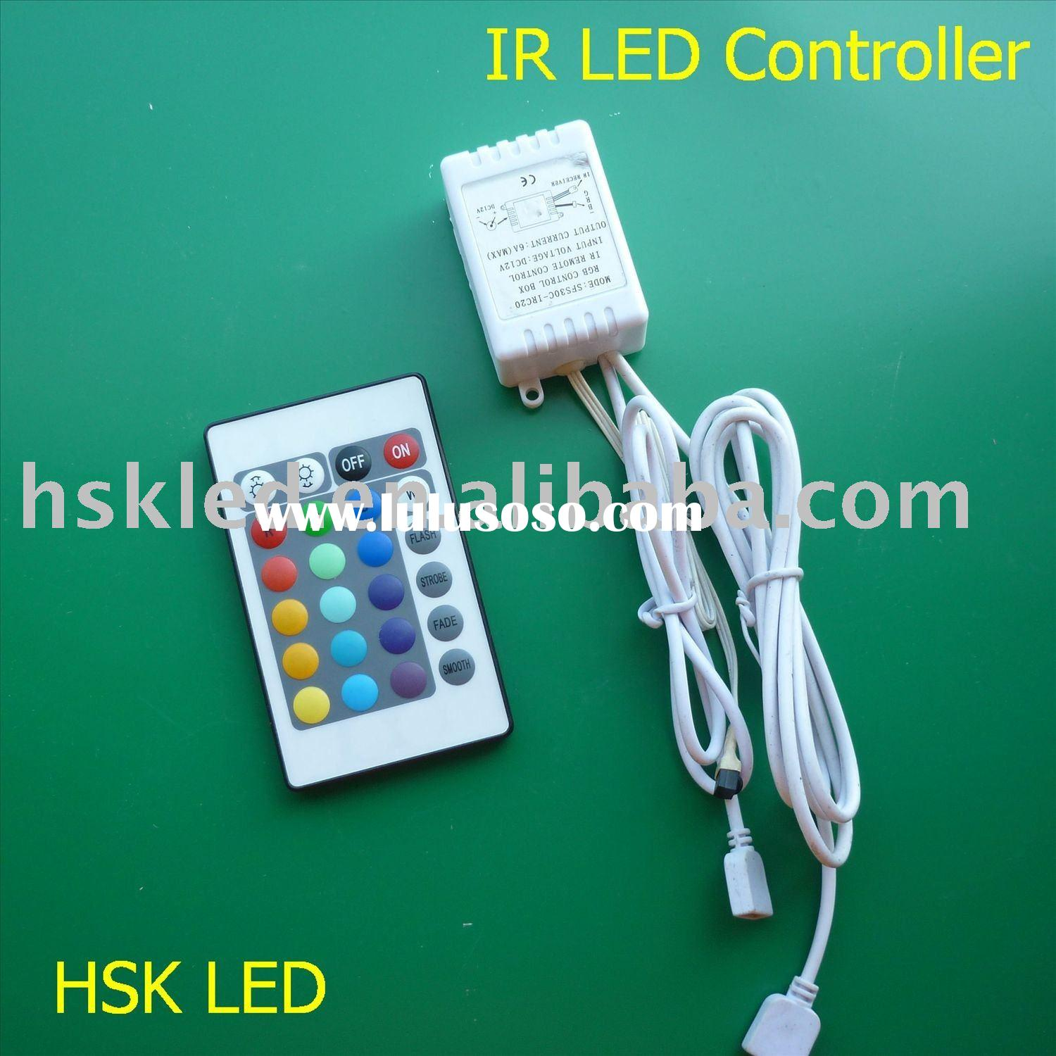 44-KEY IR RGB LED Strip Controller