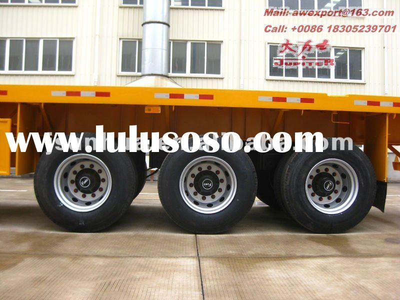 45ft Tri-Axle ISO Container Chassis Semi Trailer With Air Suspension
