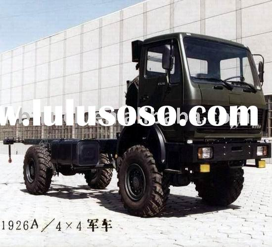 4-wheel drive Northbenz military vehicle