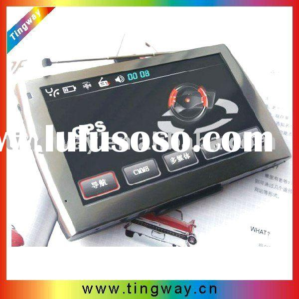 5.0 Inch Portable GPS Navigator+Digital TV(ISDB-T DVB-T)
