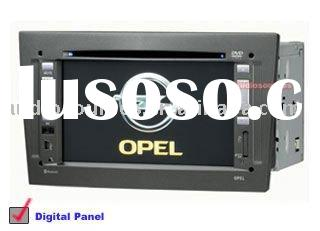 "6.5 ""digital LCD monitor car dvd gps for opel with radio,GPS,bluetooth ,ipod,can-bus"