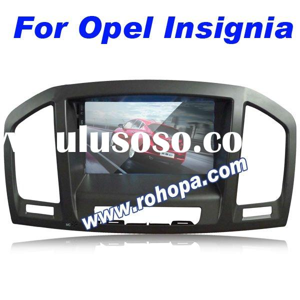 7 inch 2 din best car dvd player with gps for OPEL INSIGNIA