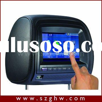 7inch Headrest Car DVD Player with touch screen