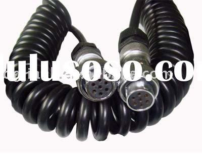 7pin metal trailer cable connector truck cable /wire