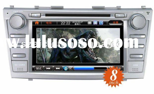 8 inch TFT touch screen car dvd GPS navigation special for toyota camry hot sale OEM