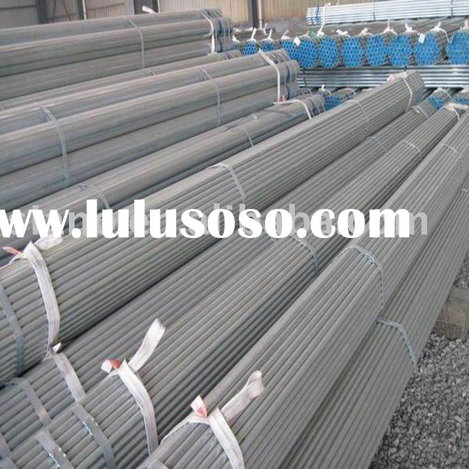 ASTM A500 Grade B black steel pipe