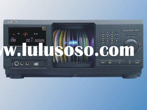 AUTO DVD PLAYER ; 400 DISC DVD PLAYER & CHANGER