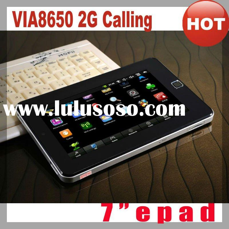 "Best-selling+7"" VIA8650+Android 2.2+Wifi+Flash 10.1+Camera+800MHz+RAM 256MB+Dual touch+Youtube"