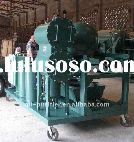 Black Waste Oil Refinery Equipment to Distill Used Lube Oil to Diesel