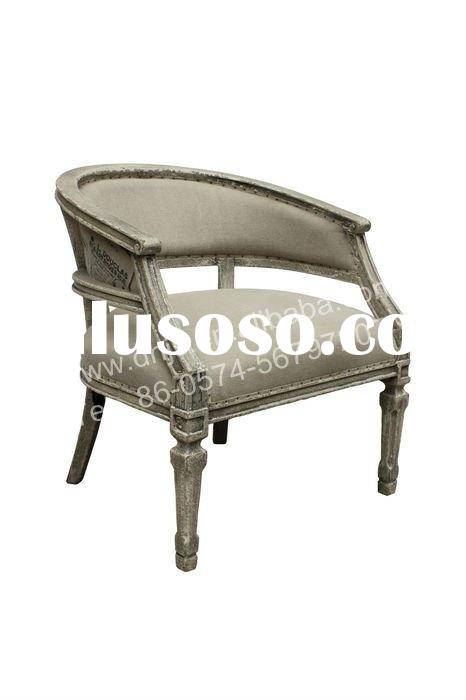 Brooks occasional carving chair in dark