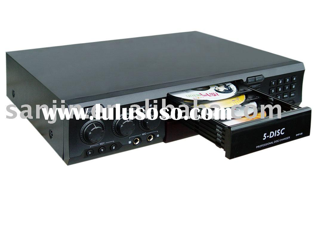CAR DVD PLAYER ; 5 DISC DVD CHANGER