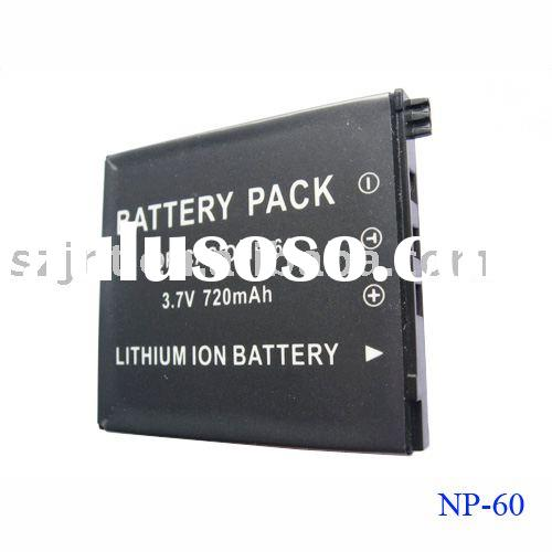 Camera battery for Casio NP60