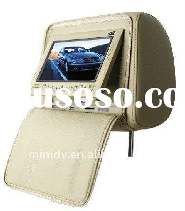 Car Headrest DVD player stable quality with built in games dvd player