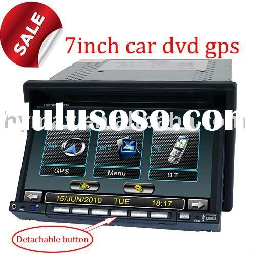 Cheap 7inch digital panel car radio dvd gps 3D UI with PIP