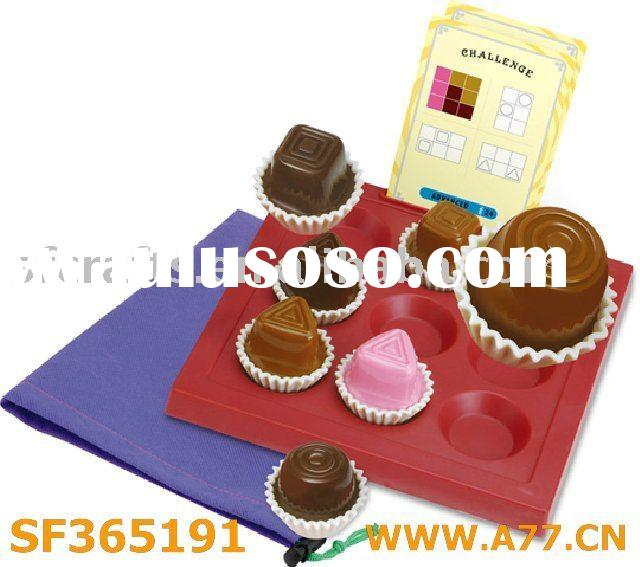 Chocolate board game/chess/kid's toys/educational toys