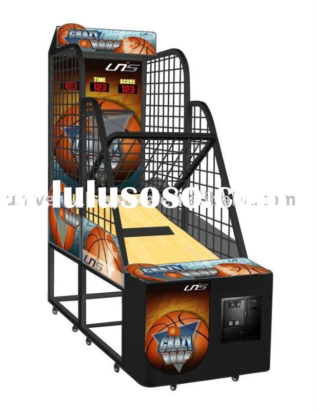 Crazy Hoop Basketball Amusement Game and Redemption Machine