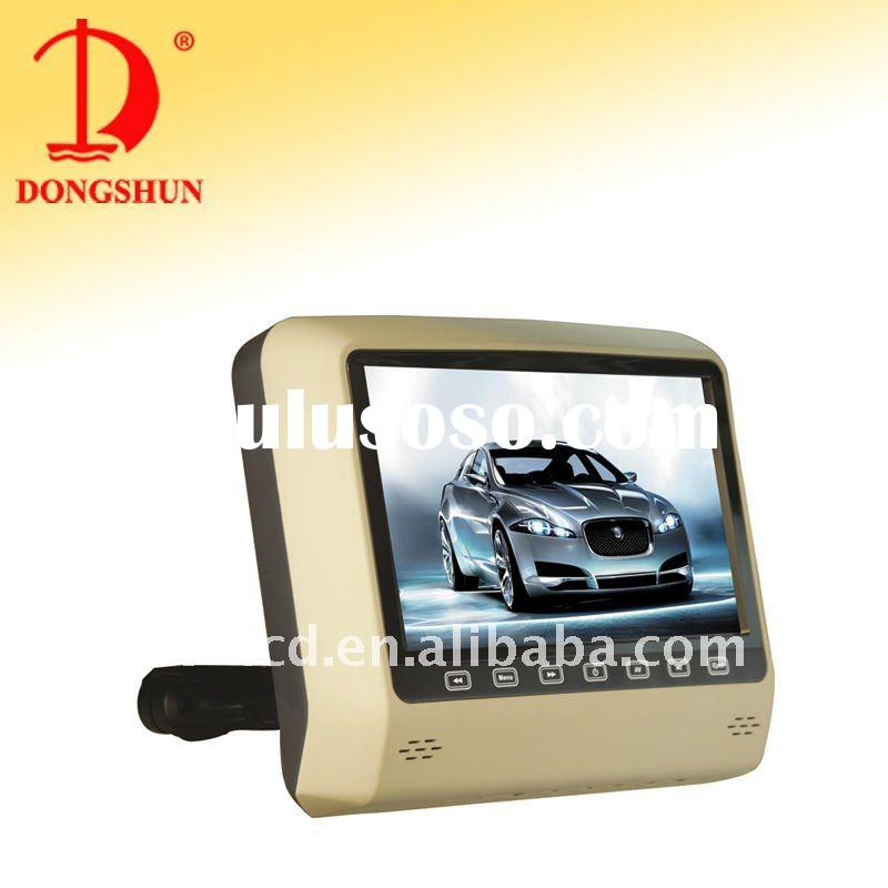 "DS-X9D 9""car headrest mount DVD player with USB,SD,Games"