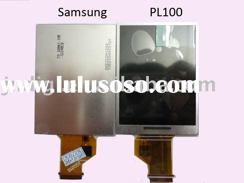 Digital camera spare parts for Samsung PL100 lcd