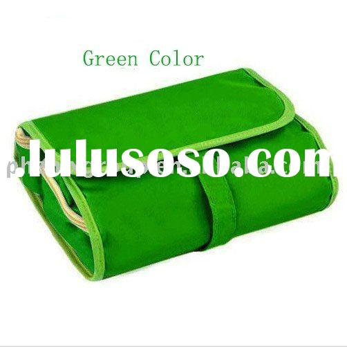 Folding travel cosmetic bag,good quality ,low price