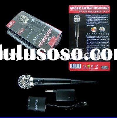 For Wii PS3 PS2 XBOX 360 4in1 wireless karaoke microphone, video game accessories, video game access
