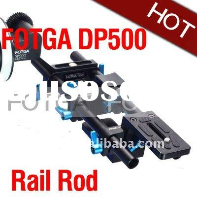 Fotga DP500 System DSLR rail rod support 15mm 4 follow focus For 5D II 7D 600D Wholesale