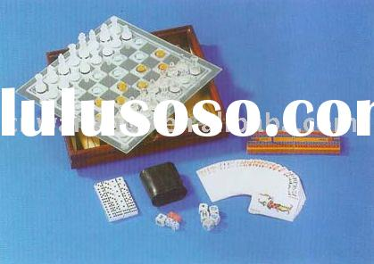 GLASS GAME,WOODEN GAME,GAME SET,LUDO,CHESS,CHECKERS,BACKGAMMON,CRYSTAL CHESS /WOODEN BOX,DOMINOES,TI