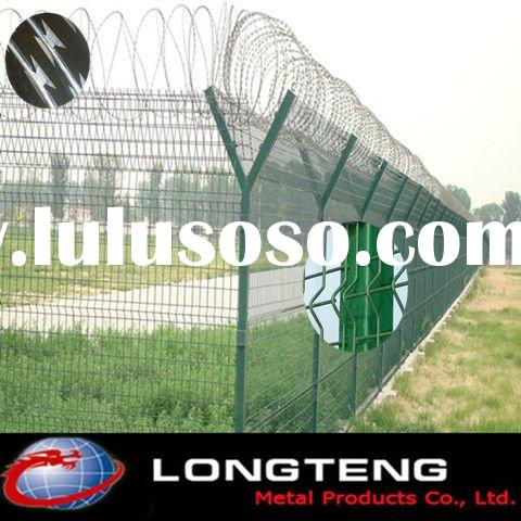 Galvanized /PVC Separation Fence& Galvanzied barbed wire,Razor barbed wire( Anping Facotry)