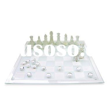 Game Night Marble Chess/Checkers Set 10049