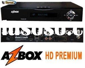 HG Premium HD digit VFD display/MPEG4 HD +YouTube satellite receiver