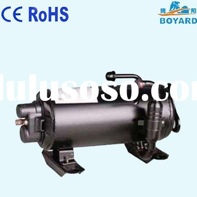 HVAC R407C Carrier horizontal aircon compressor for military RV SUV camping car caravan roof top mou