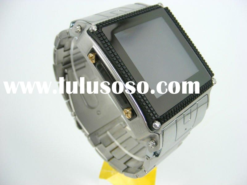 High quality wrist watch cell phone W818 paypal