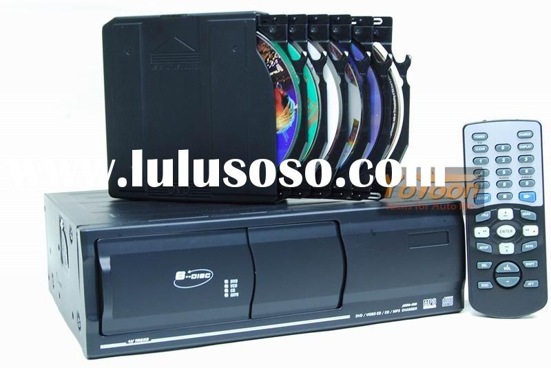 Hot selling 6 disc DVD/CD/MP3/MP4 dvd changer