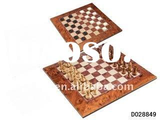 Magnetic Chess and Checkers (2 in 1 Game Set)