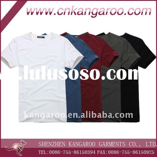 Men's 100% cotton T-SHIRT with short sleeve